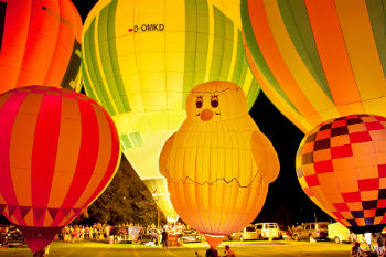 ペナン島 熱気球フェスタ