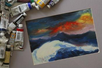 ペナン島 油絵教室