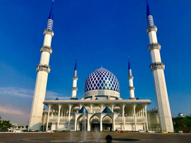 ブルーモスク マレーシア